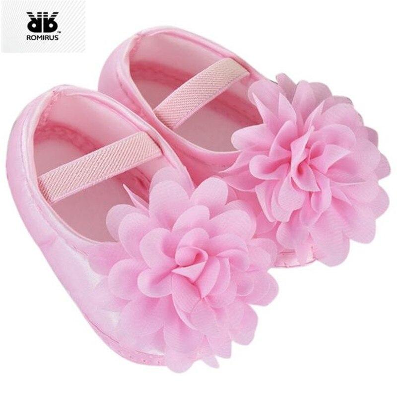 Romirus/Обувь для младенцев sapatinhos Para Bebe Menina Мокасины новорожденных Обувь для девочек пинетки для новорожденных Обувь Спортивная обувь Infantil Menina младенцев