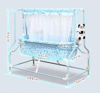 Sallei Электрический детская кровать колыбель кровать умный ребенок кровать Concentretor москитная сетка стул Колыбель кресло подвесное кресло кач