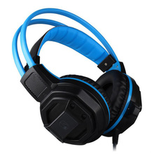 Computer IMP GX1 LED Light Gaming Headphone Hifi Stereo Wired Headset Speakers Stereo Bass Earphone with Microphone for PC Gamer