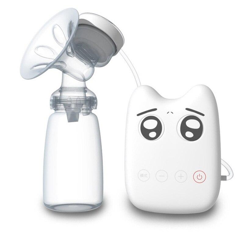 Real Bubee Baby BPA Free Milk Extractor Suckers Double Breast Pump With Milk Bottle DIY Intelligent USB Electric Breast Pumps