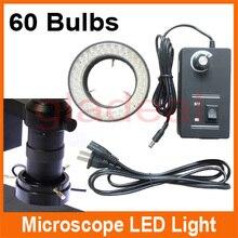 Buy online Multifunction adjustable 7000K 60 LED Bulbs RingLamp For Industry HDMI VGA Digital Microscope Lens Camera Magnifier