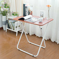 Free installation large-sized apartment table simple folding desk