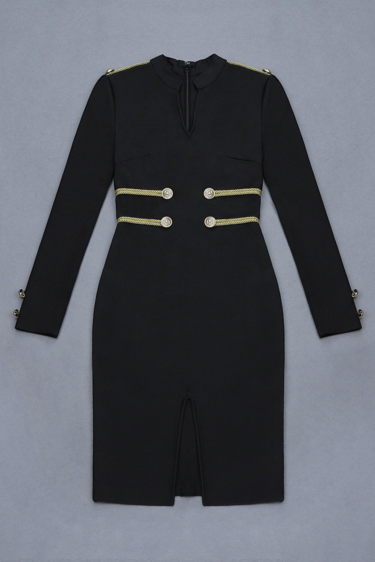 Midi Noir Femmes Sexy À Nouvelle Longues Robe Robes Celebrity De Lacée Club Manches Soirée Élégant Meqeiss Tenue Automne Fête xTFCaA7xq