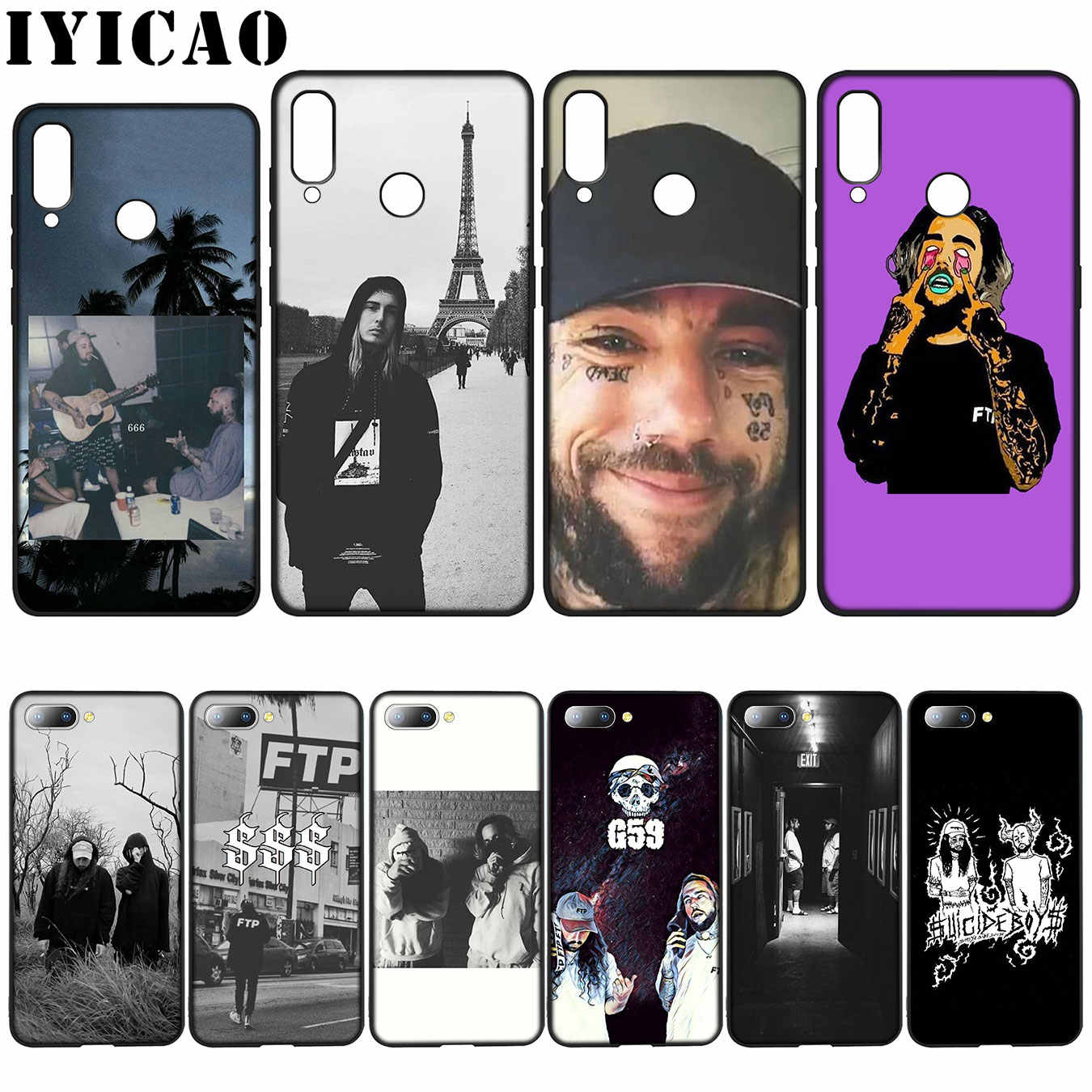 IYICAO Suicideboys FTP G59 High Quality Silicone Case for Huawei Y7 Y6 Prime Y9 2018 Honor 8C 8X 8 9 10 Lite 6A 7C 7X 7A Pro