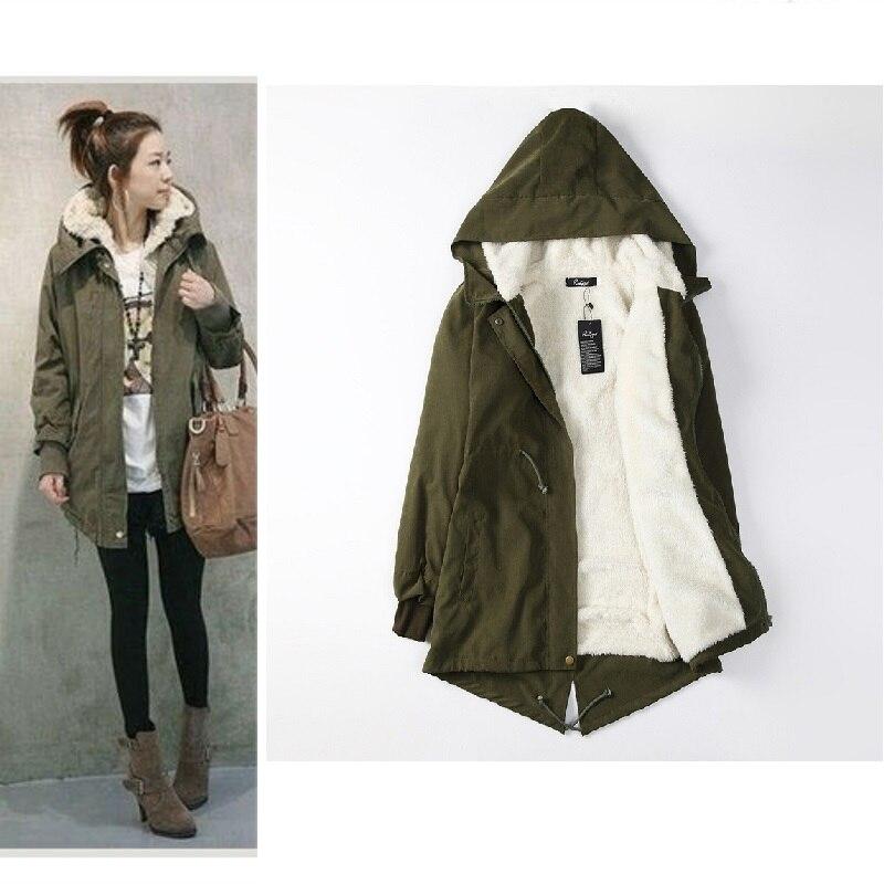 Winter With Fur Hooded Women Parkas Coats Female Adjustable Waist Long Outwear Plus Size 4XL Casual Warm Jackets Coats FWT5120
