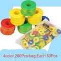 200 Pçs/saco Multicoloridos Crianças Brinquedos de Aprendizagem Preschool Educação Matemática Contando Jogos Brinquedos para As Crianças do jardim de Infância