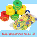 200Pcs/bag Multicolored Children Learning Toys Preschool Kindergarten Education Counting Games  Mathematics Math Toys for Kids