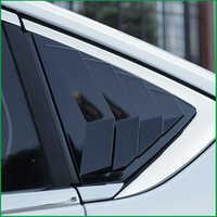 Für Buick Regal Opel Insignia 2017 2018 Limousine Hinten Fenster Blind shades Jalousie Rahmen Sill Molding Abdeckung Aufkleber Trim Auto styling