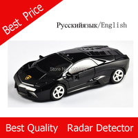 Whole Sale Price Voice Alerting Radar Detector English And Russian Option Black And Red Available