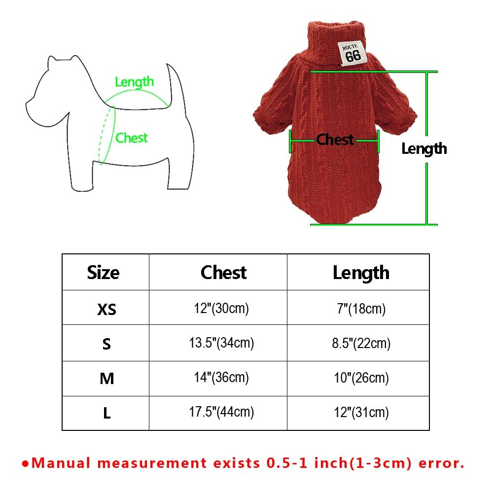 Dog Turtleneck Sweater US, United Kingdom Online Dog Clothes
