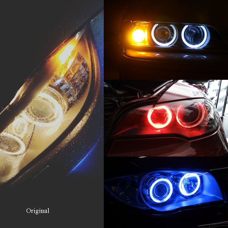 E63 E71 Eyes E60 No E64 Angel Decorative E89 2x X5 Devil For E82 Lamp X6 E92 E87 Z4 Error H8 Canbus 12v Bmw E91 Led E61 E70 E90 OP8nX0wk