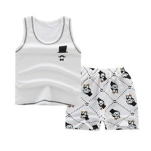 Hot Sale Brand Boys Clothing Children Summer Boys Clothes Cartoon Kids Boy Clothing Set T-shit+Pants Cotton Kids Clothes(China)