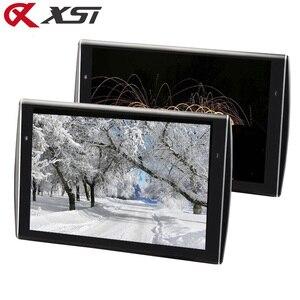 Image 1 - XST 2PCS 11.6 นิ้ว Ultra thin Car Headrest Monitor HD 1080P หน้าจอ LCD MP5 เครื่องเล่น USB/SD/HDMI/FM/ลำโพง
