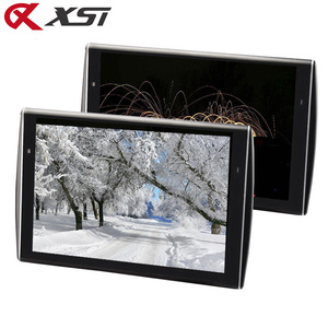 Image 1 - XST 2PCS 11.6 inch Ultra thin Car Headrest Monitor HD 1080P Video LCD Screen MP5 Player With USB/SD/HDMI/FM/Speaker