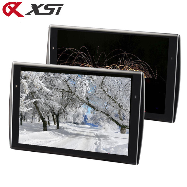 XST 2PCS 11.6 inch Ultra thin Car Headrest Monitor HD 1080P Video LCD Screen MP5 Player With USB/SD/HDMI/FM/Speaker