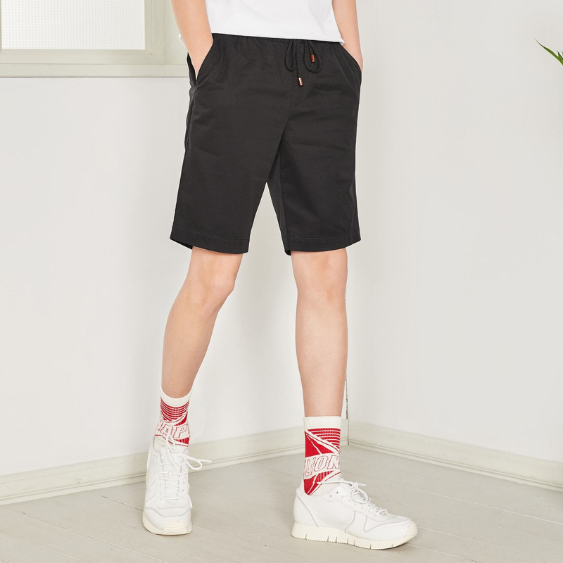 SEMIR 2019 Summer Solid Casual Shorts Men Jeans Shorts Plus Size Beach Shorts 26-42 Half Pants Brand Boardshorts