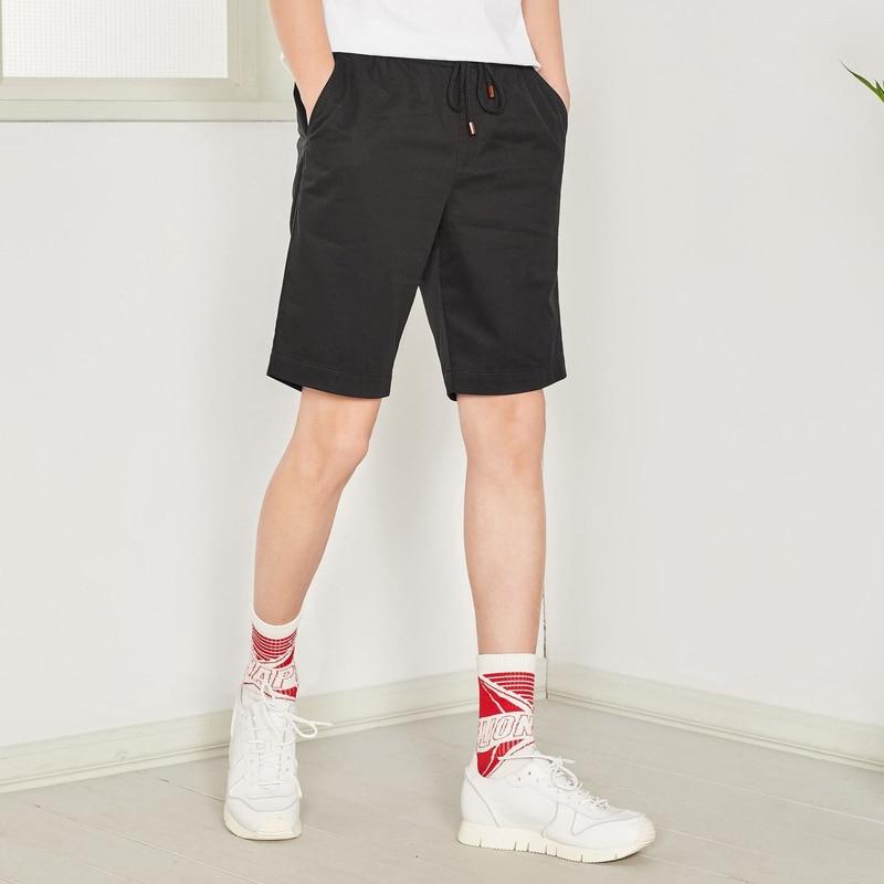 SEMIR 2019 summer solid casual shorts men jeans shorts plus size beach shorts 26-42 Half Pants Brand Boardshorts