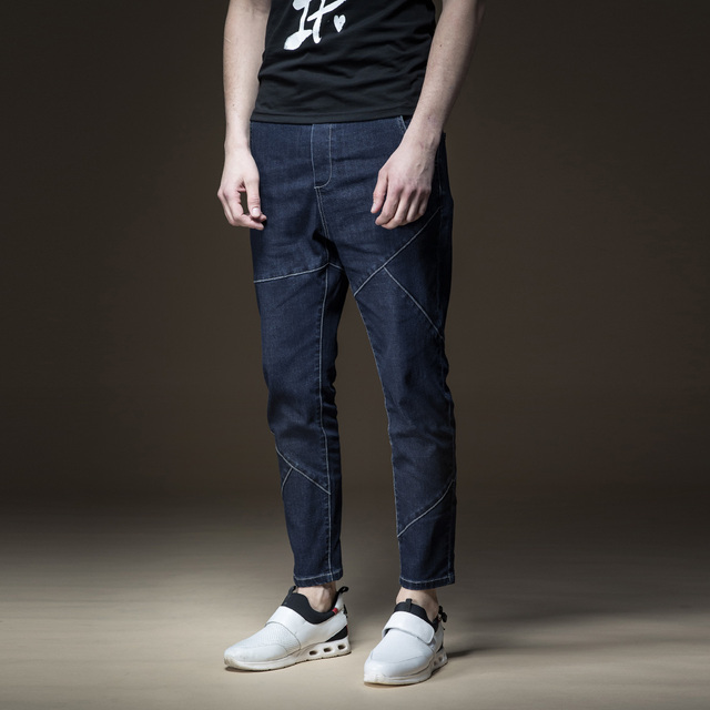 Skinny Jeans Men Time-limited Real Pinli 2018 Summer New Men's Clothes And Little Feet, Casual Cowboy Pants Boomer B182116390