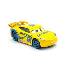 Disney Pixar Cars 3 Dinoco Cruz Ramirez Metal Diecast Toy Car 1:55 Loose Brand New In Stock & Free Shipping