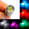 Tiptop Canbus Del Coche Auto LED T10 194 W5W 10 SMD 5630 5730 LED Light Bulb Car-styling Retail & Envío Libre al por mayor