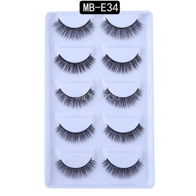 HTB1Cc8fRhjaK1RjSZKzq6xVwXXaD New 3D 5 Pairs Mink Eyelashes extension make up natural Long false eyelashes fake eye Lashes mink Makeup wholesale Lashes