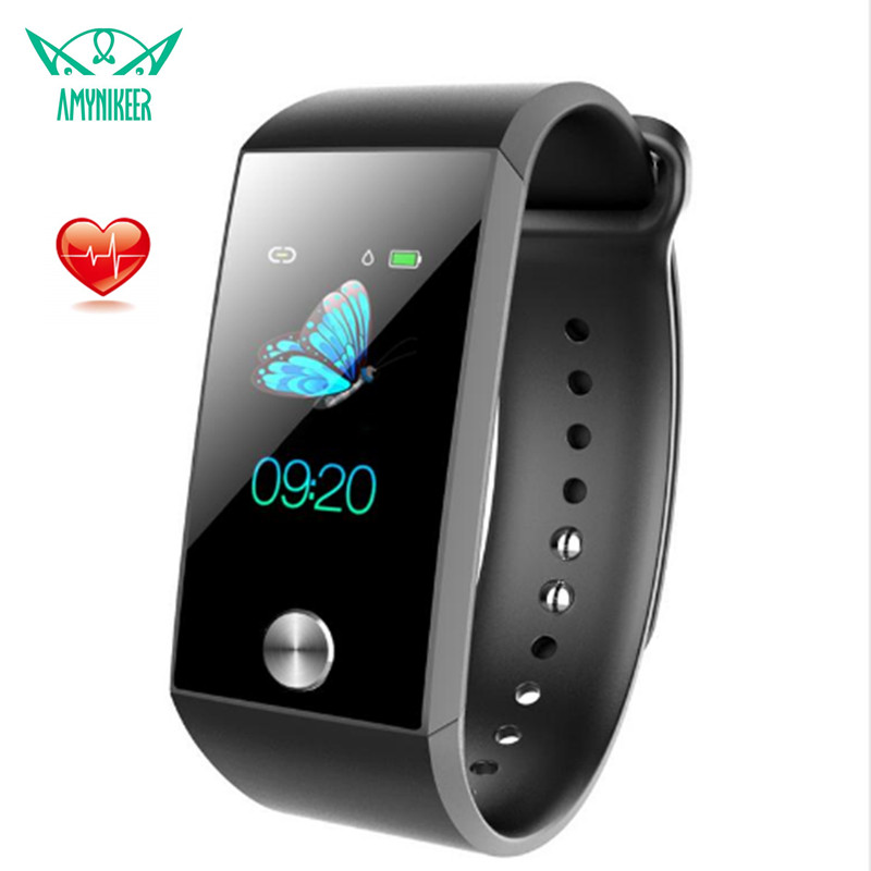 Smart Band S28 Fitness Tracker Heart Rate Monitor Blood Pressure ECG PPG Pulse Rate Waterproof Smart