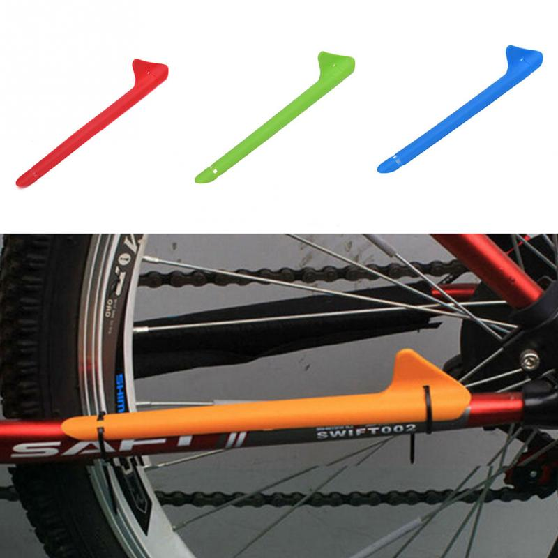 Vélo cadre protection decal set//bike chain stay protection.