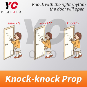 Image 4 - Knock Prop Escape Room Game 1987 Knock the door to escape the mysterious room Takagism game adventures get puzzle clues YOPOOD