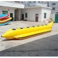 8 Person Aufblasbare Ski Flotation 2 Tube Bananenboot Towables Wasser Welle Surf Spiel Reiten Wasser Spiel