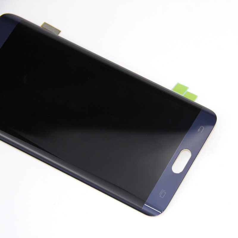 S6 Edge Plus экран для samsung Galaxy S6 Edge Plus G928 G928F ЖК-дисплей с сенсорным экраном дигитайзер Super Amoled