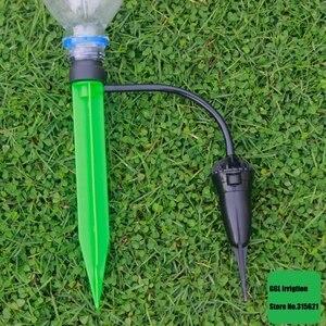 Image 5 - 1 conjunto bonsai flor dripper irrigação automática vasos de flores rega gotejamento kit água salvar gotejamento gotejador bocais