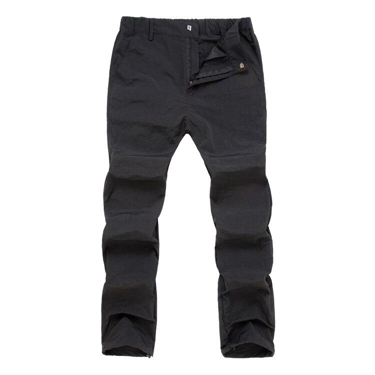 Trvlwego caminhadas calças dos homens verão secagem