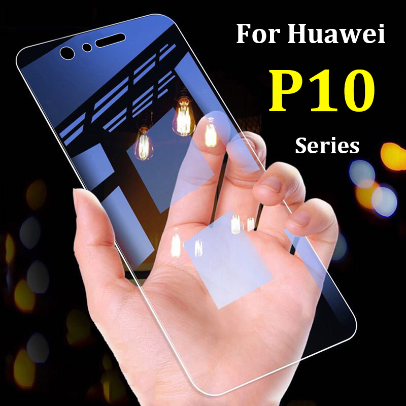 protective glass on for huawei p10 lite glass  p 10 plus p10lite p10plus 10p huawey screen protector tempered glas film tremp-in Phone Screen Protectors from Cellphones & Telecommunications