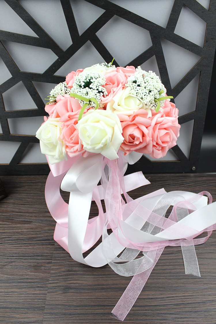Wedding Bouquet de mariage Bridal Bouquet Wedding Bouquet Bridesmaid Artificial flower Boeket buques de noivas Bruidsboeket (14)