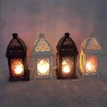 European Style Wall Hanging Vintage Candle Holder Wedding Candlestick  Lantern Home Decoration