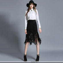 Black tasse Long Sexy Skirt Gothic Skirts For Women Matching Corset Women Party Sexy Skirts