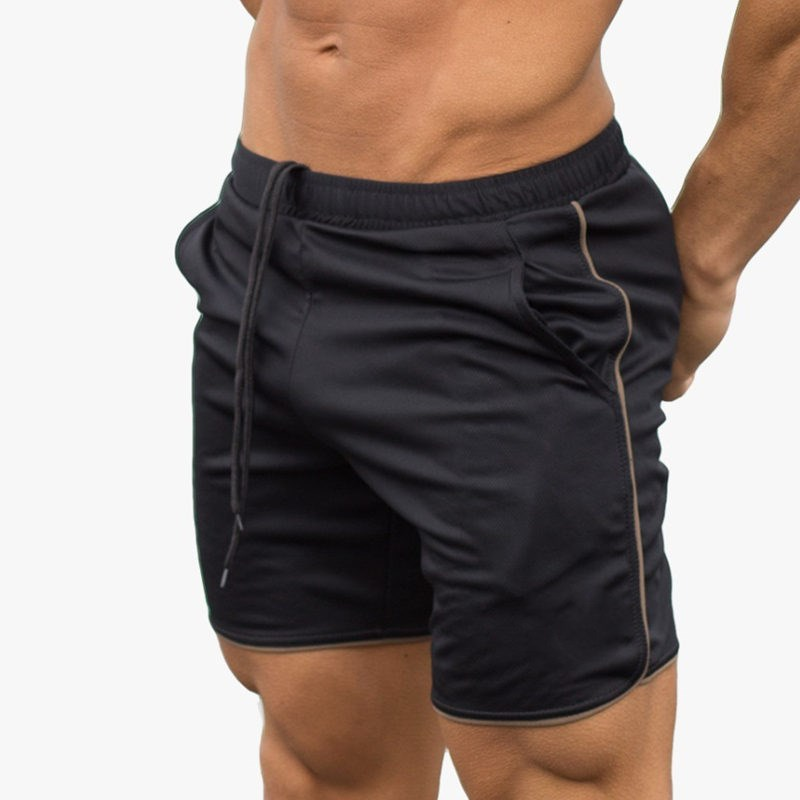 Mens summer new fitness shorts Fashion leisure gyms Crossfit Bodybuilding Joggers short  ...