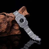 New Limited Edition Classic Elegant S925 Silver Pure Thai Silver Bracelet Watches Thailand Process Rhinestone Bangle Dropship