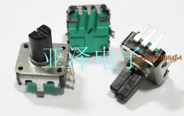 5PCS Coded switch EC12 type 24 positioning number 24 pulse axis length 10MM