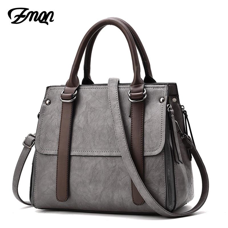 ZMQN Brands Bags For Women Womens Designer Handbags High Quality PU Leather Crossbody Bags 2018 Solid Pack Women-bag Shop Online