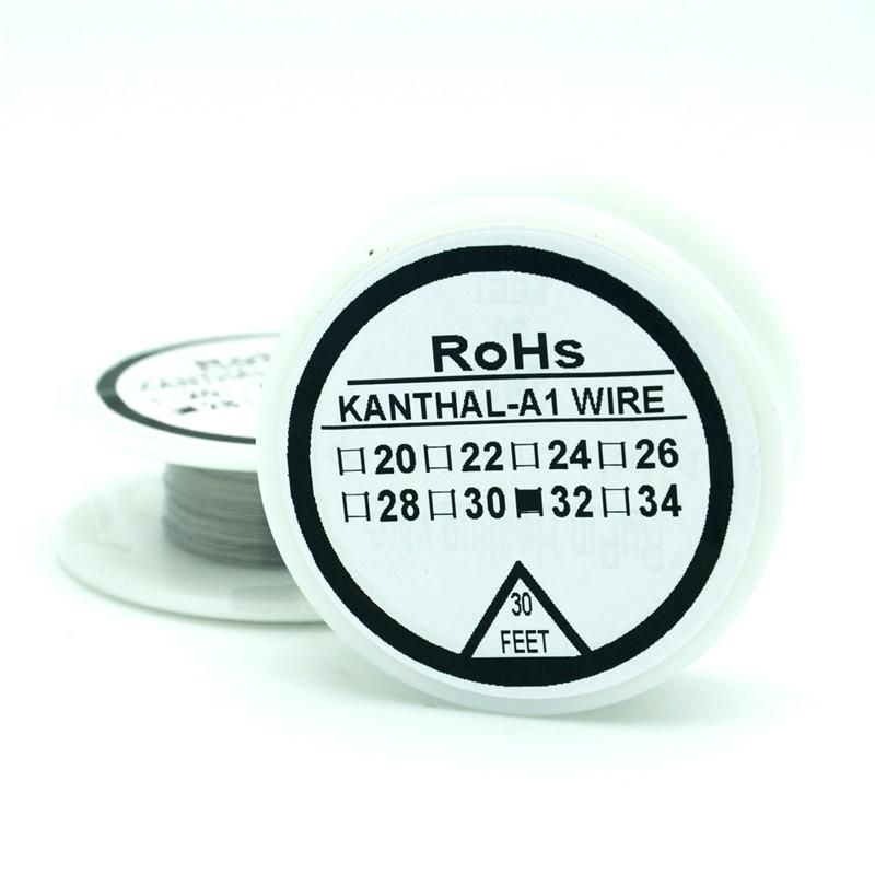 KanthalA1 draht 32 Gauge 30 FT (0,2mm) Cantal Widerstand Widerstand ...
