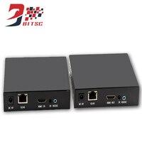 Szbitc 1080 P HDMI матричный HDMI удлинитель 100 м по tcp/ip Cat5e/6 ethernet кабель hdmi передатчик/приемник с ИК