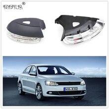 Для VW Jetta 6 MK6 2011 2012 2013 автомобиля отделка зеркала и добавит позитива вашей поездке, светодиодный индикатор сигнала поворота светильник с лампой отверстия