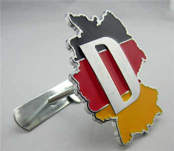 5 Sets Car 3D Metal Germany Flag Front Hood Emblem Badge For Cadillac Buick Chevrolet Ford Lincoln Chrysler Jeep Dodge Focus - DISCOUNT ITEM  10% OFF Automobiles & Motorcycles