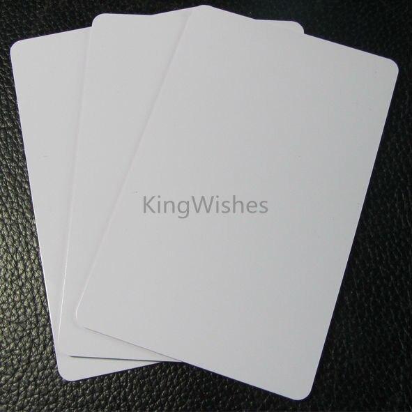 Factory Price 10PCS/Lot Inkjet Printer Tray Blank PVC ID Card No Chip For Canon MP630 MP640 MP980 MP990 86 x 54 x0.76mm