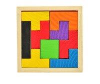 B деревянный тетрис Игры развивающие игрушки головоломки игрушки для детей деревянный Танграм мозг Логические дошкольного Для детей