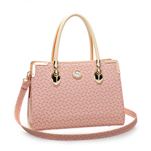 2016 font b handbag b font shoulder bag simple fashion pink casual European fashion tide killer