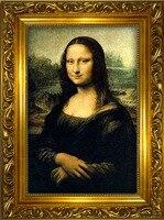 Moda Fai Da Te pittura diamante pieno Mona Lisa smile world famous arte della decorazione della parete ricamo punto croce kit di diamante del ricamo