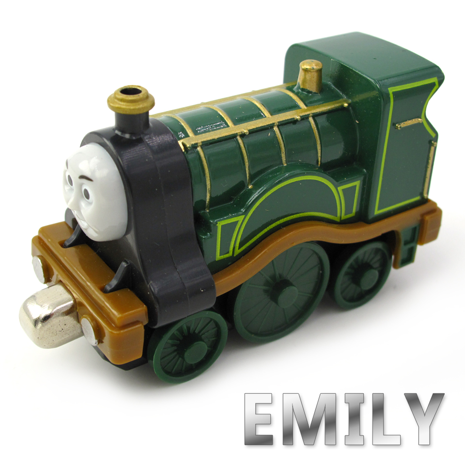 Diecasts Vehicles Thomas T050D EMILY Thomas And Friends Magnetic Tomas Truck Car Locomotive Engine Railway Train Toys for Boys