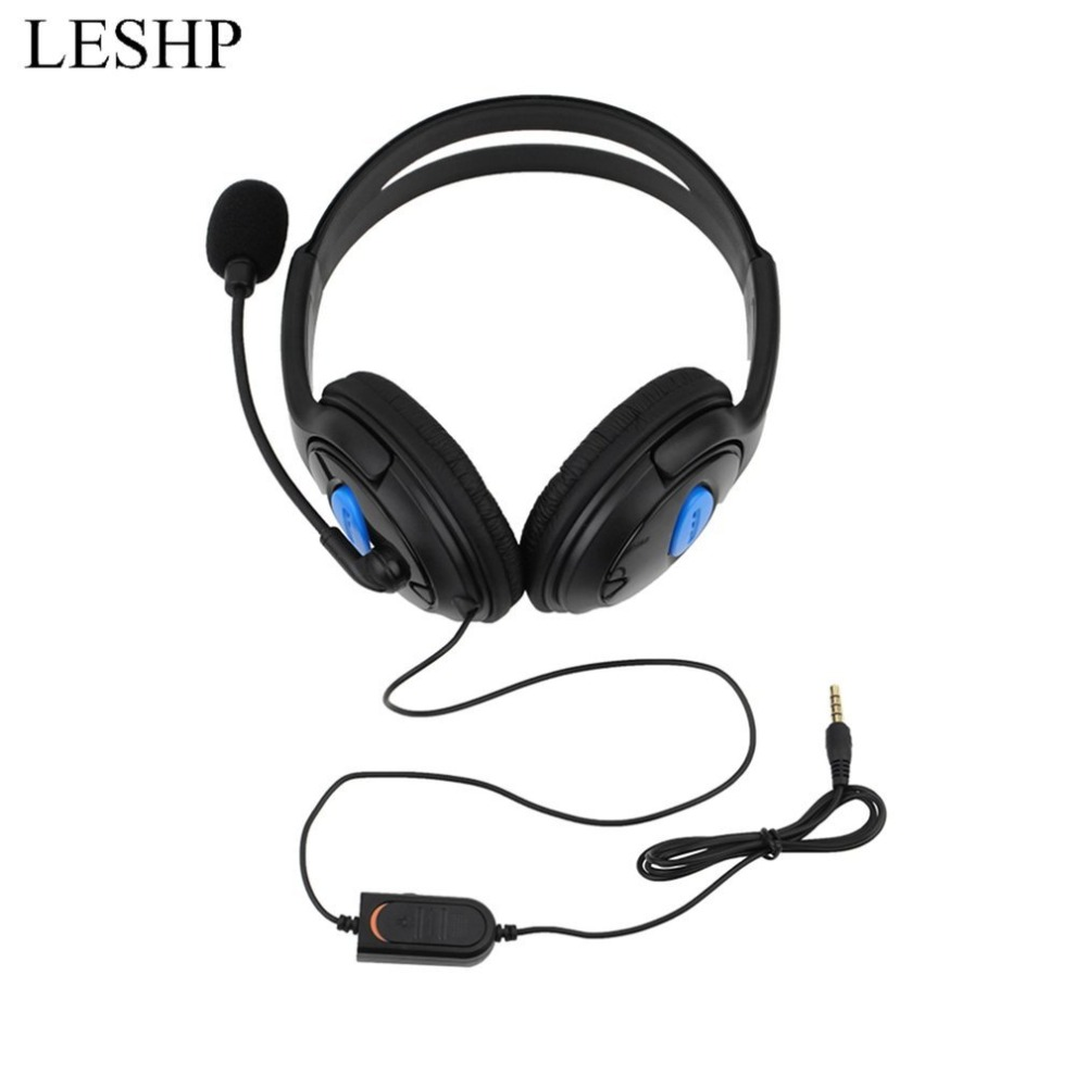 Onleny Wired Gaming Headset Earphones with Mic Microphone Stereo Bass Dinner for Sony PS ...
